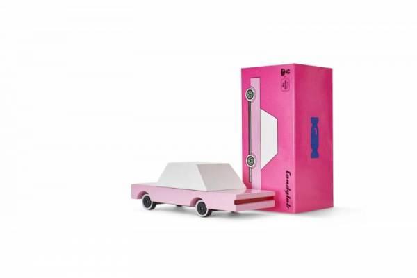 Holzauto - Candycars - Pink Sedan