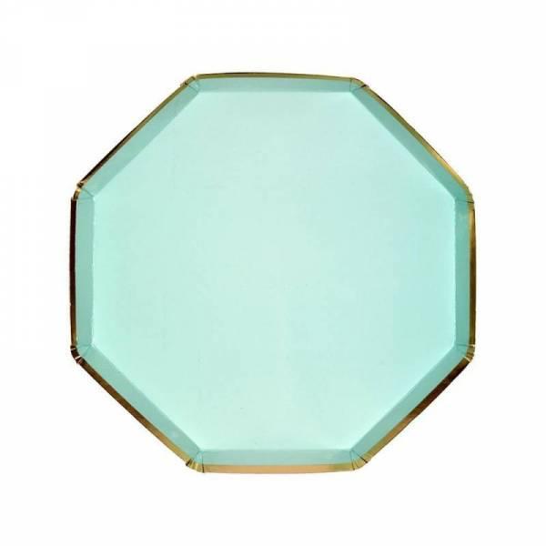 Pappteller Mittel - Mint Side Plates