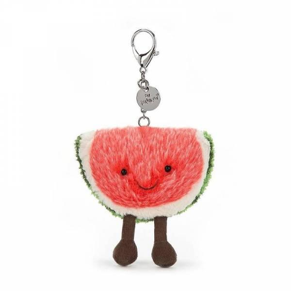 Taschenanhänger Wassermelone bag charm - H8cm