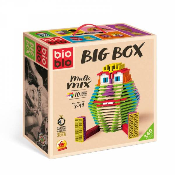 "Big Box ""Multi-Mix"" mit 340 Steinen"