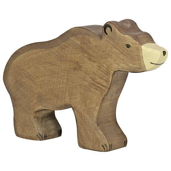 Braunbär Holzfigur