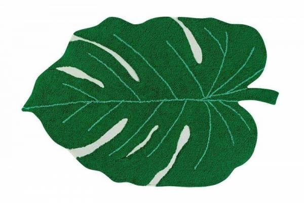 Teppich - Monstera Blatt - 120x180cm - grün