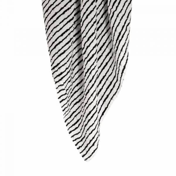 XXL Mulltuch aus Bio-Baumwolle - Stripes - 120x120cm