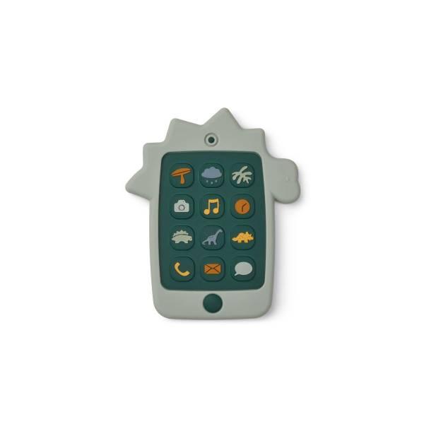 Spiel-Smartphone Dino dove blue
