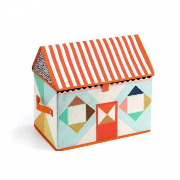 Spielzeugbox Haus Aufbewahrung