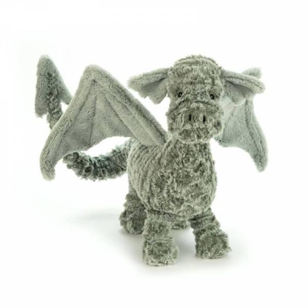 Stofftier Drache Drake Dragon - grün