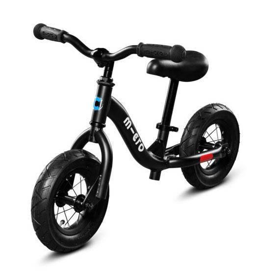 Laufrad - Micro Balance bike - schwarz