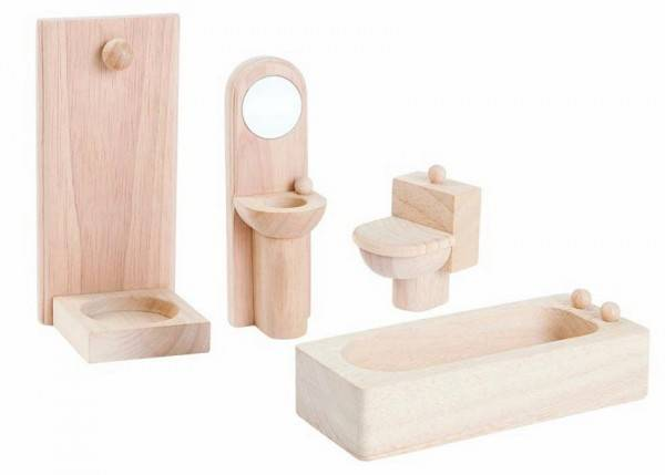 Puppenhausmöbel Badezimmer Classic