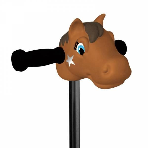Scootaheadz Pony braun