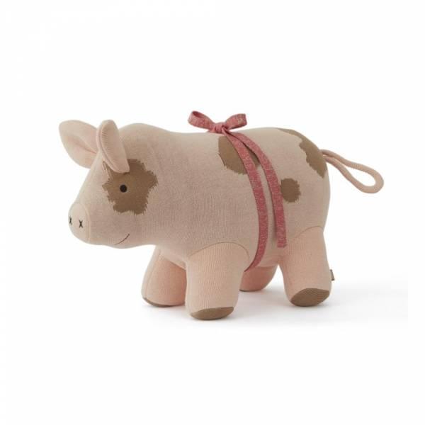 Strick-Kuscheltier Sofie The Pig