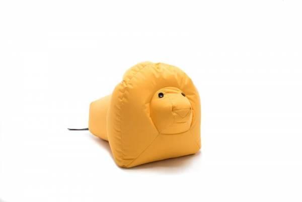 Sitzsack Happy Zoo Löwe Nora - gelb