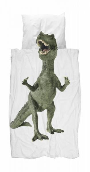 Kinder-Bettwäscheset Dino 135 x 200 cm, inkl. 1 Kissenbezug 80 x 80 cm