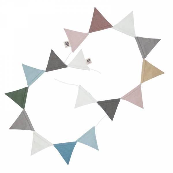 Wimpelkette, doppelseitige, mitternacht pflaume/königsblau