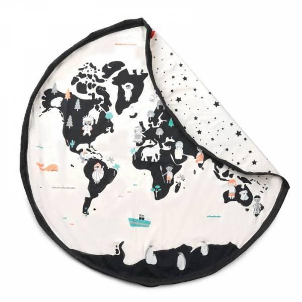 Spielzeug-Sack und Spiel-Decke - Worldmap
