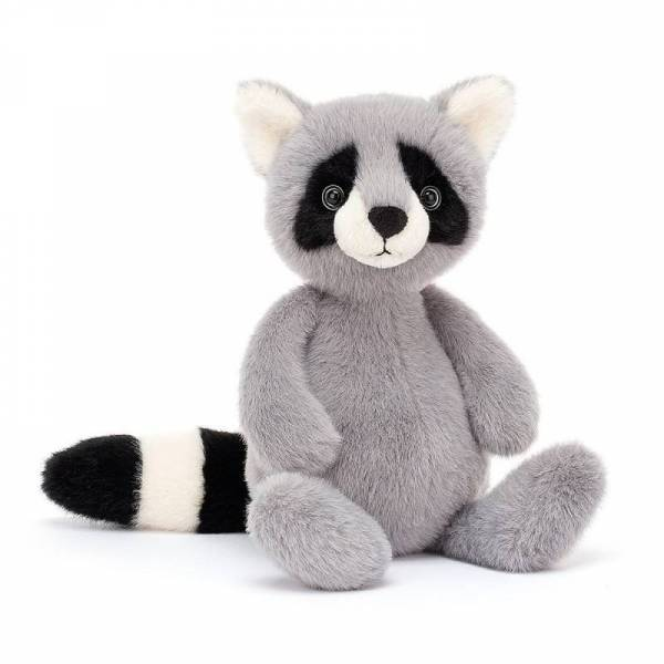Stofftier Waschbär Whispit Raccoon - H26cm