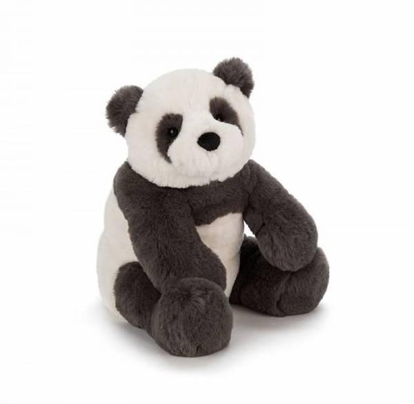 Stofftier Panda Bär Harry Panda Cub Medium - H26cm - schwarz/weiß