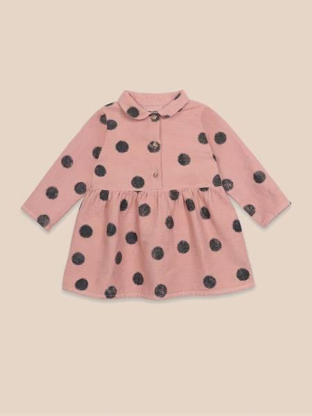 Baby Kleid Spray Dots Princess Dress