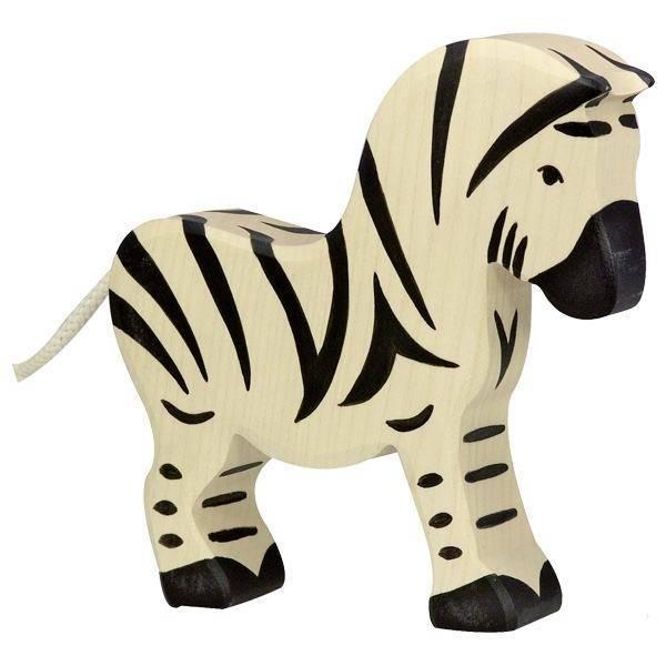 Zebra Holzfigur