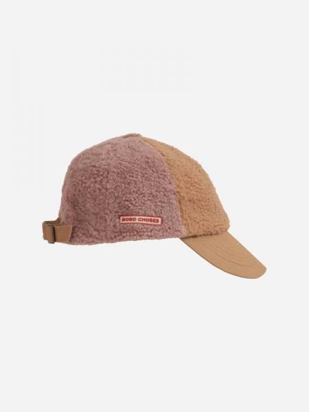 Sherpa Cap flieder/nude