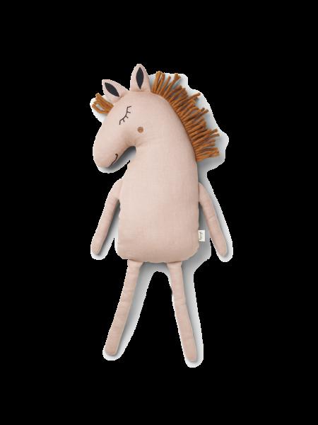 Kissen Pferd - Safari Cushion Horse - Dusty Rose