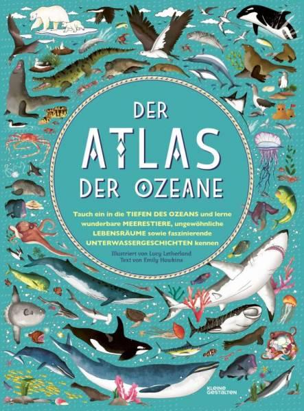 Kinderbuch Der Atlas der Ozeane