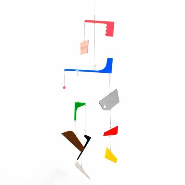 DIY Mobile aus farbigem Acryl-Glas