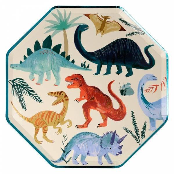 Pappteller Dino Kingdom