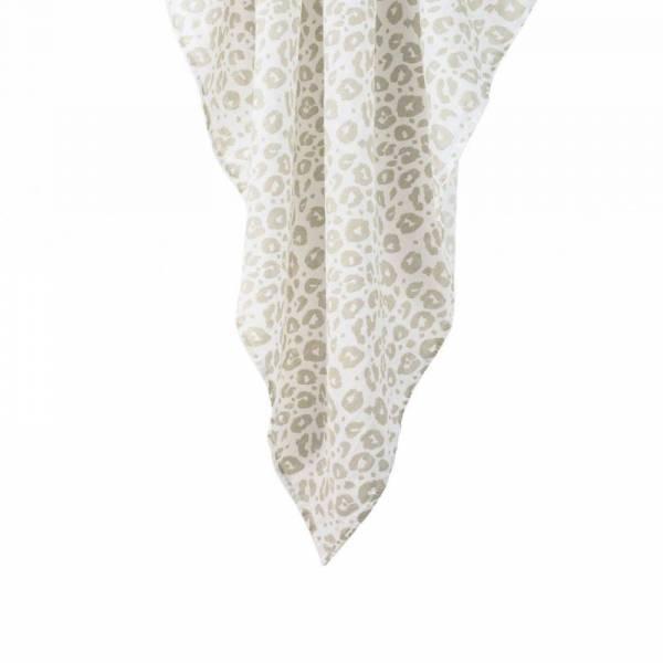 2er Set Mini-Mulltücher aus Bio-Baumwolle - Leo Schlamm - 60x60cm