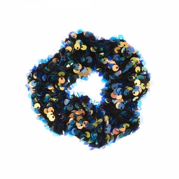 Disco Scrunchie blue