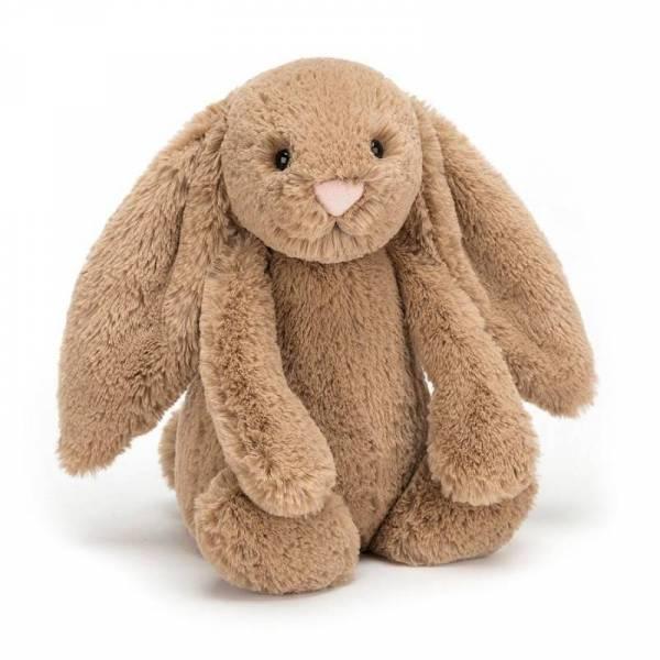 Stofftier Hase Bashful Bunny Huge - H51cm - beige