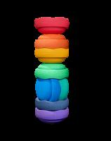 Stapelstein Regenbogen Great 8er Set NEU