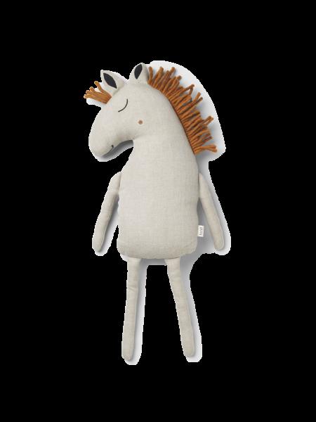 Kissen Pferd - Safari Cushion Horse - Natural