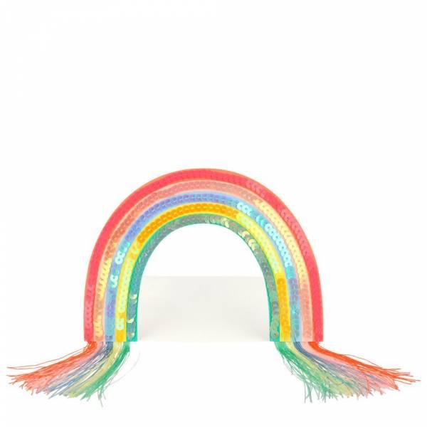 Geburtstagskarte Standup Rainbow