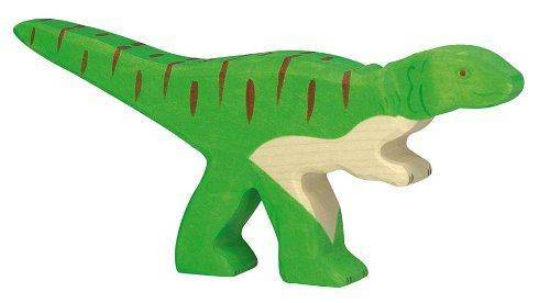 Allosaurus Holzfigur