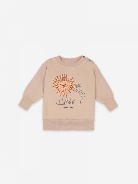 Baby Sweatshirt Pet A Lion