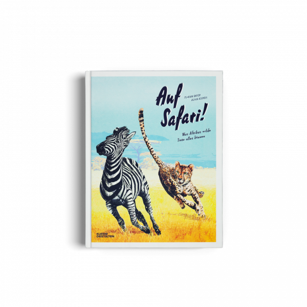 Kinderbuch Auf Safari! - Ab 6