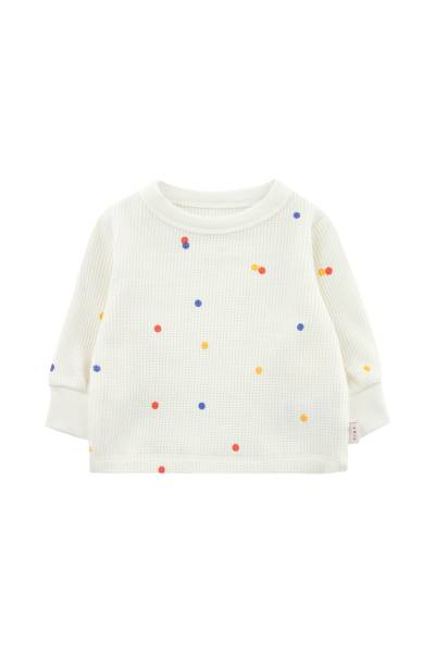 Baby Sweatshirt Ice Cream Dots