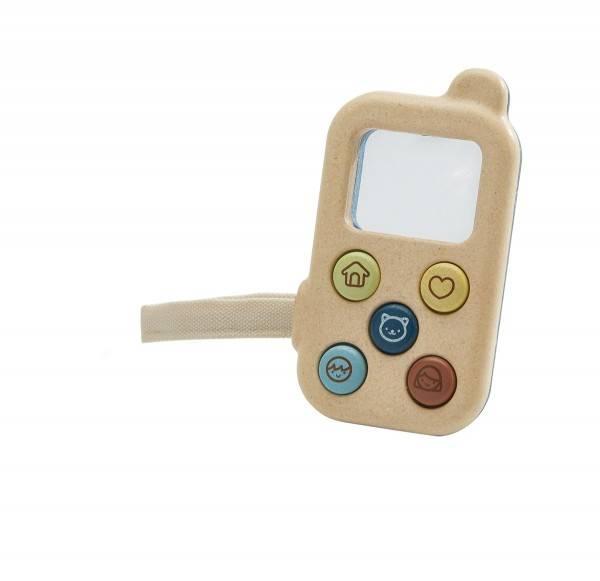 Telefon mit Lupe und App-Tasten orchard