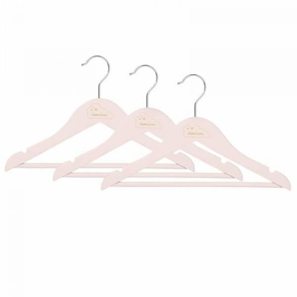 Kleiderhaken Kinder 3er Pack - Blossom Pink