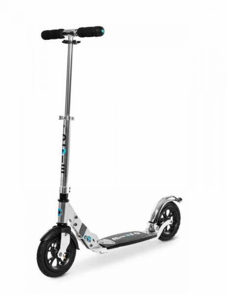 Micro Flex Air Scooter Roller - silber