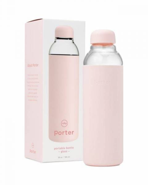 Wasserflasche - Water Bottle Glass - Blush