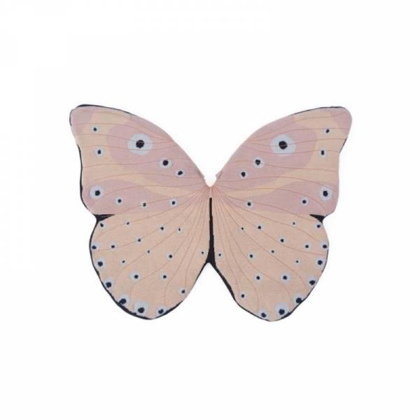 Schmetterlingsflügel, gestrickt - Verkleidung - rosé