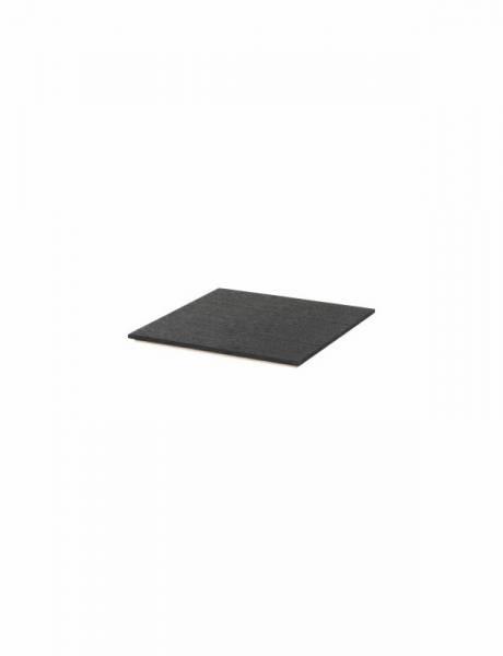 Tablett für Plant Box - Eichenfurnier, schwarz