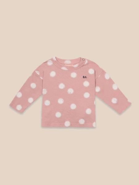 Baby Long Sleeve T-shirt Spray Dots