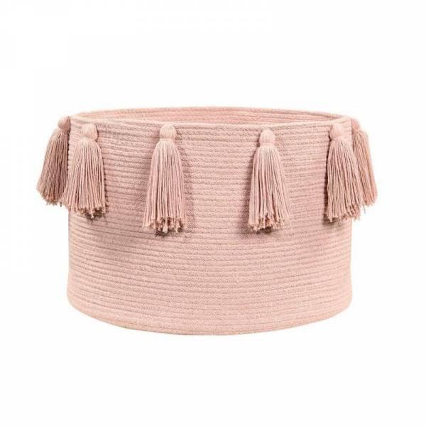 Korb - Basket Tassels - Vintage Nude