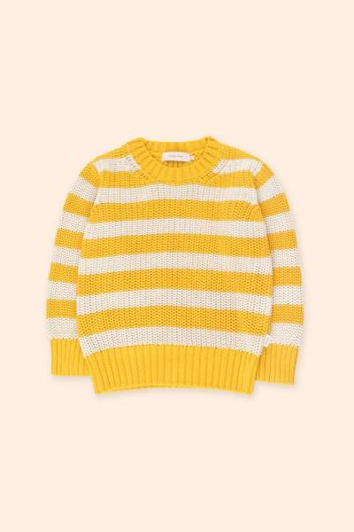 Strickpullover Stripes Sweater yellow
