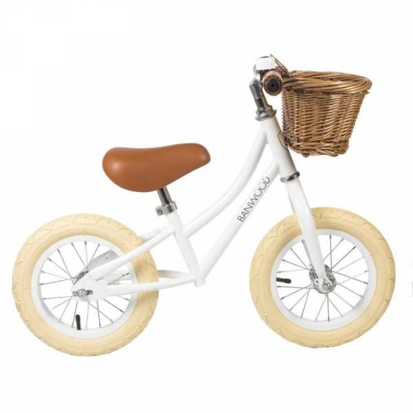 Vintage Laufrad First Go! - Weiß