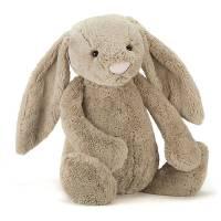 Stofftier Bashful Bunny beige really big