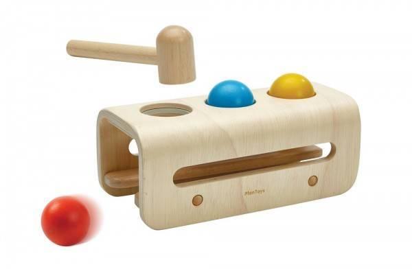 Hammerbank Kugeln, Holzspielzeug, 12+