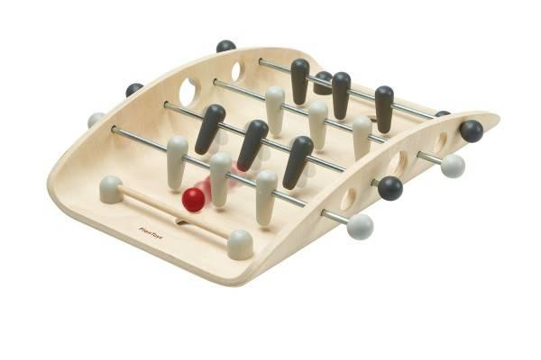 Tischfußball Kicker aus Holz